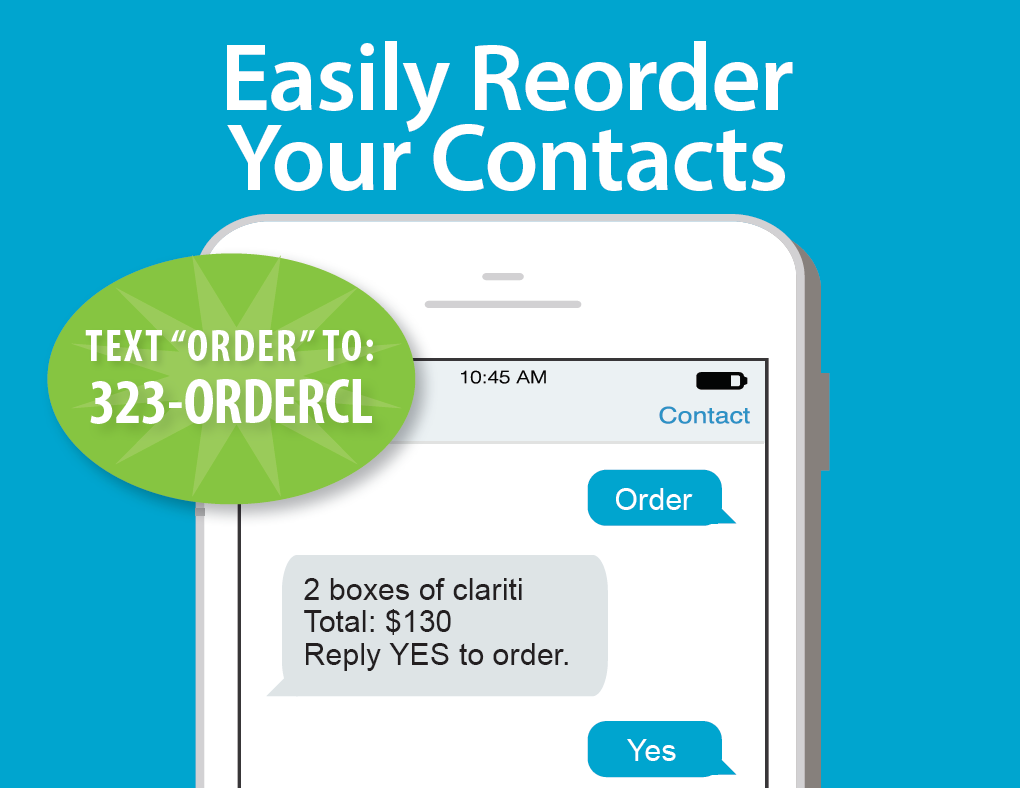 Reorder Contacts